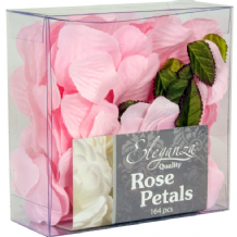 Light Pink Rose Petals | Eleganza | 164pc Box